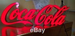 Coca Cola Posh Script LED Bar Sign