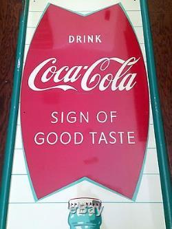 Coca Cola Soda Sign 1958