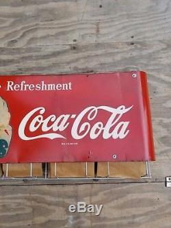 Coca Cola Sprite Boy Bag Rack Sign. 38.5inx17.5in