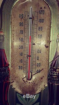 Coca Cola Thermometer. 1941 working thermometer