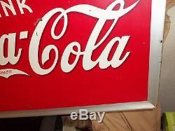 Coca Cola Tin Sign