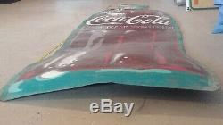 Coca-Cola Tin Sign Die-Cut Bottle Shaped 109 x 27 circa 1920