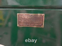 Coca Cola glascock Cooler 1930