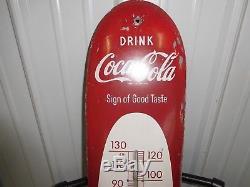Coca-cola Thermometer Sign