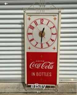 Coca-cola clock