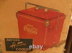 Coca cola cooler vintage 1940 new in box very rare