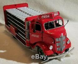 Danbury Mint Coca-cola 1938 Delivery Truck replica die-cast metal New NIB