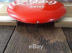 Extremely Rare Coca Cola Kay Display 40's/50's Sign
