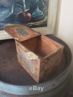 Extremely Rare c1903 Coca Cola Chewing Gum Shipping Crate Atlanta, Ga