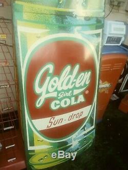 Gold-en Girl Cola 10 ft. Bottle Sign