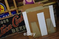 Gulf Spray Insect Killer Hardware Store RARE CARDBOARD SIGN RARE Gas Station Oil