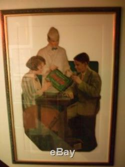 HOLY GRAIL RARE c. 1926 Coca Cola Diecut Soda Fountain Cardboard Sign NICE