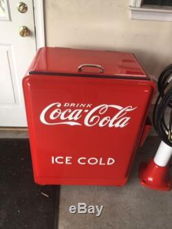 ICE COLD coca cola vintage Westinghouse Jr. Cooler 1930s Restored Original! NICE