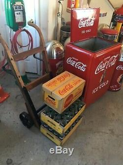 ICE COLD coca cola vintage Westinghouse Jr. Cooler Unbelievable Condition