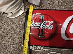 Illuminated / Light Up Coca Cola Sign from fridge top CCFL Mains Project DIY