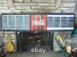 L@@K New 6ft Coca-Cola Menu Board Sign with4 sets of coke letters & numbers
