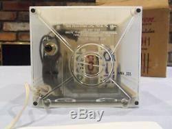 MUSEUM RARE NOS COCA COLA TV CLOCK Circa 1950s Numechron 58 NIB SIGN GOOD TASTE