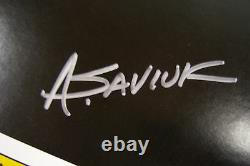 Marvel Origin of Amazing Spider-Man Coca-Cola poster signed by ALEX SAVIUK
