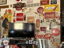 Minty NOS 12 inch Coca Cola button sign