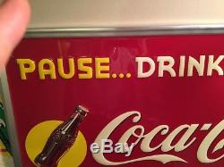 NOS Pause Coke Sign