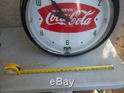 Neon Coca Cola Clock