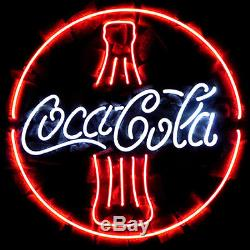 New Coca Cola Iced Cold Coke Soft Drink Logo Neon Sign 17x14