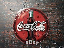New Coca Cola Soft Drink Neon Sign 24x20 with HD Vivid Printing Technology