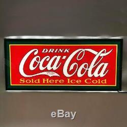New Drink Coca Cola LED wall lamp sign 1922 logo Coke Soda Pop Neon Machine