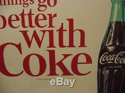 Nos Coca Cola Tin Sign Things Go Better With Coke