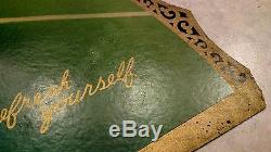 ORIGINAL1926 Coke COCA COLA Cardboard EASEL BACK Sign Neat