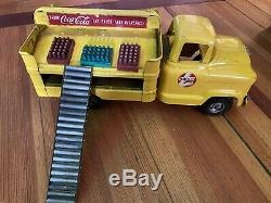 Old Buddy L Coca Cola Sign Delivery Truck Coke