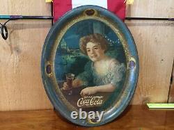Original 1909 Coca Cola Tray