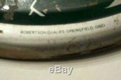 Original 1939 COKE Coca Cola Tin Silhouette Girl Thermometer Advertising Sign