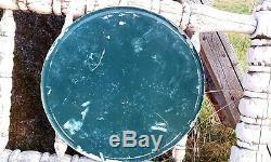 Original 1947 COCA COLA Sprite Boy VERY RAREMetal Enamel Button Sign 13 INCHES
