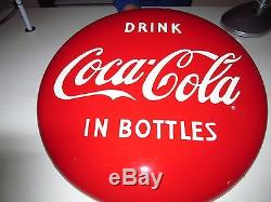 Original 24 Coca-Cola Buttons Signs (qty 2)