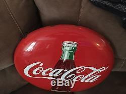 Original 24 Coke Button Sign