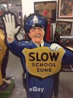 Original Coke Policeman Original Vintage