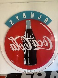 Original vintage coca cola sign