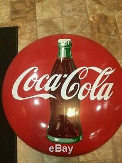 Porcelain Coke Button 24 Inch