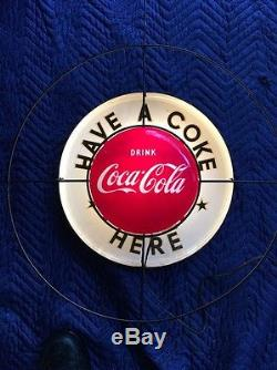 RARE Coca Cola 16 Button Light Up Sign