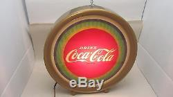RARE Vtg Coca-Cola Illusion Light-up or Lighted Store Counter & or Hanging Sign