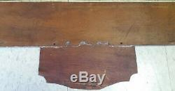 Rare 1920s-1930s Wood Coca-Cola Sign Ye who enter. Kay Store Display 39x11