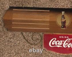 Rare. Coca Cola Kay Display Menu Board Wood