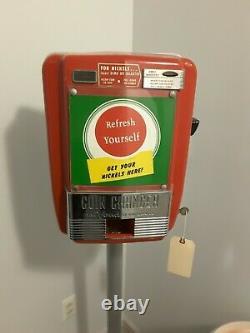 Rare Coca Cola Vintage Vendo Coin Changer Machine