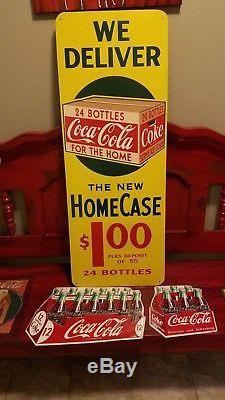 Rare Original coca-cola Sign