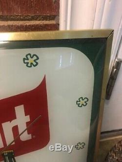 Rare Squirt Advertising Sign Pam Clock Non Coca Cola