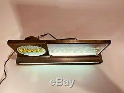 Rare Vintage Coca Cola Pause Advertising Electric Sign Light