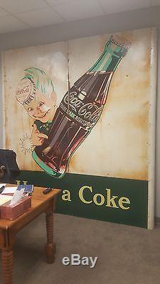Rare Vintage Coca-Cola Sign