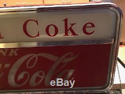 Rare Vintage Price Bros Coca Cola Soda Have A Coke Light Sign