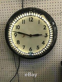 Swihart Neon Clock